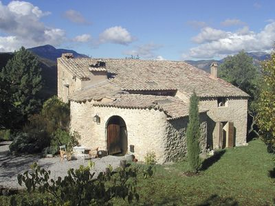 Photo for Provencal farmhouse with pool surrounded by nature in a 40 hectare property