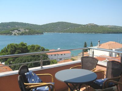 Photo for Apartments Hamdija, (13898), Tisno, island of Murter, Croatia
