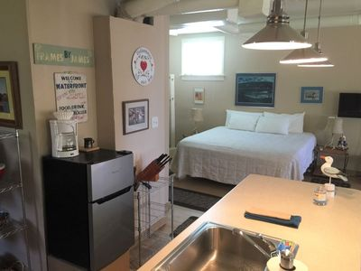Photo for King Bedroom Loft on Main Street Walking Distance to All Downtown Activities