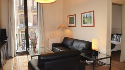 Photo for 3 bedroom Apartment, sleeps 5 in Barcelona with Air Con and WiFi