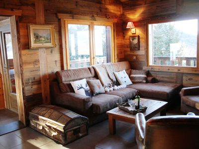 Les Eterlous - Very beautiful Chalet 200m from the slopes of La Plagne - 12-15 pers.
