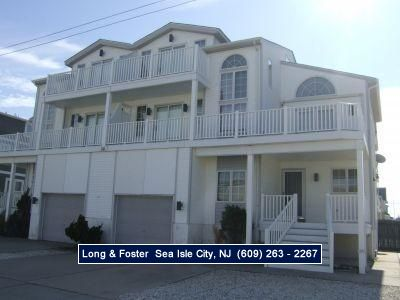 Photo for Beach Block 4 bedroom, 2 1/2 bath townhouse. Great street with ocean views.