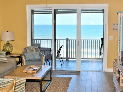 Photo for Enjoy Fantastic Beachfront Views from this 5th floor Condo.