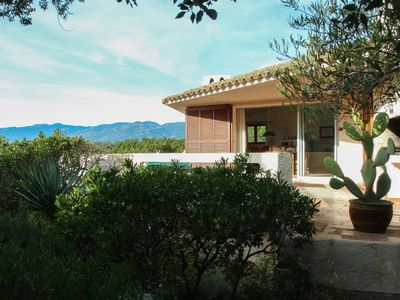 Photo for Family villa 3 bedrooms sea view in the private domain of Cala Rossa