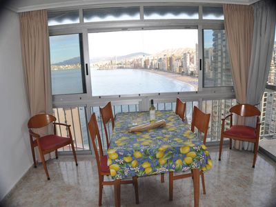 Photo for Large sea view apartment 50 meters from the beach