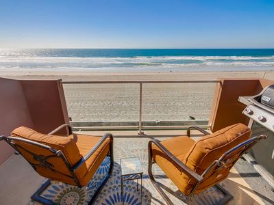 Photo for ☀️ OCEANFRONT 🏝 Luxury Beach Condo- Family Friendly!