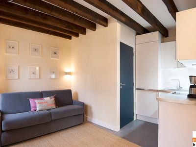 Photo for S02448 - Comfortable studio flat for 2 people near Les Halles