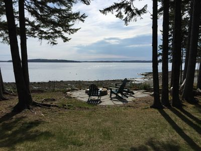Photo for Lovely 3BR cottage on the bay on Islesboro, 2 BA, Ideal for a Family or Couples