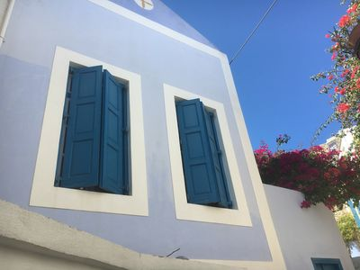 Photo for Charming house walking distance from the beach, terrace view on Turkish coast