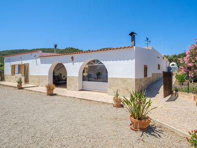 Photo for Secluded Holiday Home with Pool, Garden, Terrace & Wi-Fi; Parking Available