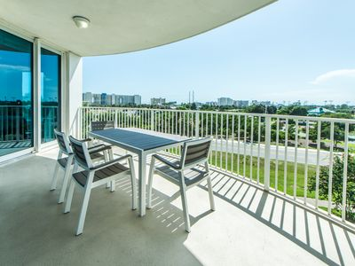 Photo for Palms Resort 2416 Full 2BR/2BA☀OPEN Apr 22 to 24 $639!☀Lagoon Pool!4th FL Views!