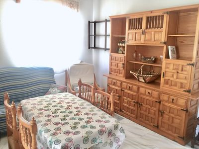 Photo for Two bedroom apartment, in Almuñecar village and 20 meters from the beach