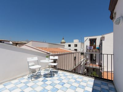Photo for Loft with 2 Magic terraces in the city center
