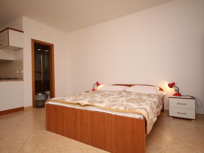 Photo for Studio flat near beach Metajna (Pag)