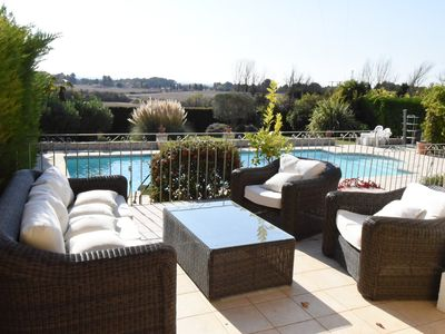 Photo for Beautiful villa in Provence - Large swimming pool - 10mn downtown Aix