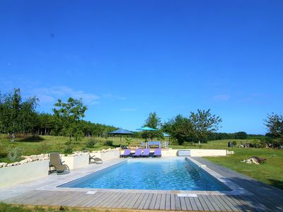 Photo for Old Stone Farmhouse - Idylic French Living & Boutique Luxury - Private Pool
