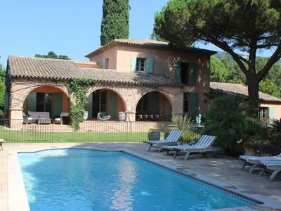 Photo for Superb 6 Bedroom Villa Sleeps 12 To 16 People With  Pool And Superb Sea Views