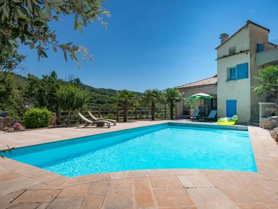 Photo for Gite with heated swimming pool near MILLAU SUD AVEYRON ST ROME DE TARN Viaduct