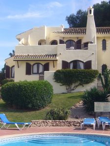 Photo for Villa with stunning views,easy access to swimming pool/ beautiful gardens. A/Con