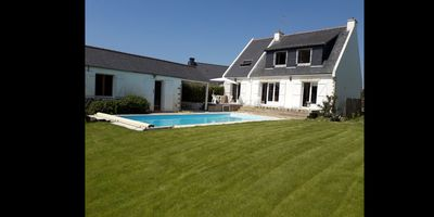 Photo for House with pool in Plouharnel
