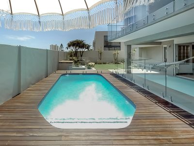Photo for Stylish, family-friendly home with a private pool & furnished terrace