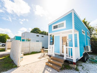 Photo for Tiny Blue Oasis -Sleep 6 in one of our most popular Tiny Houses- Free WiFi