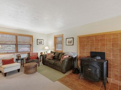 Photo for Modern home w/ hot tub, deck, two kitchens - two acres of meadows/hills!