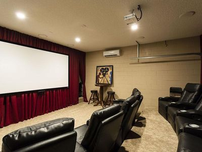 Photo for Magical Megaplex Villa - Private Theater - South Facing Pool - Guarded Community