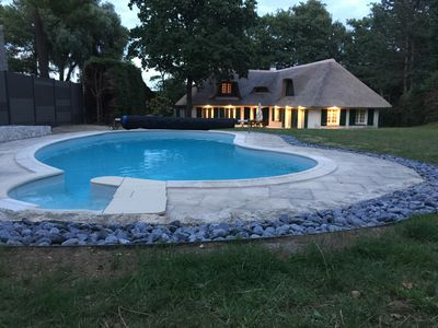 Photo for VERY BEAUTIFUL COTTAGE OF 230 m2 WITH SWIMMING POOL AND SPA