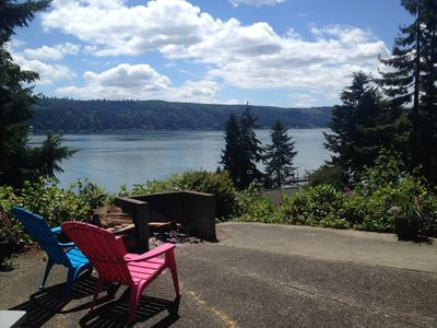 Photo for Hood Canal Beach House~What a View!!!