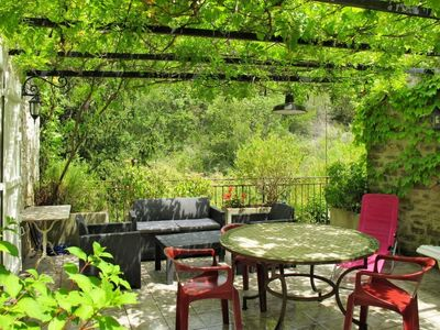 Photo for Rochecolombe Holiday Home, Sleeps 4 with Air Con and Free WiFi