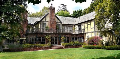 LEASE THIS AMAZING HISTORIC WARNER BROTHER'S MANSION - 1.6 ACRES- POOL & TENNIS