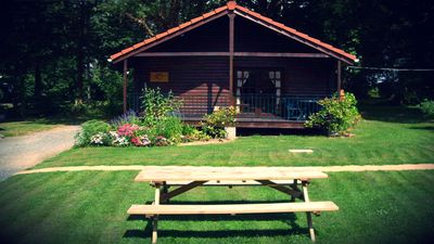 Photo for Family friendly lodges with heated swimming pool and 6 acres of grounds