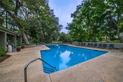 Come on In! - The water is perfect in the pool. Swim to your heart's content or pull up a chaise lounge and catch some sunshine.