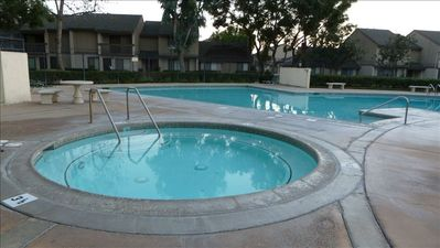 Hot Tub & Pool for Guest Use. Magic Mouse Townhouse, Anaheim Vacation Rental