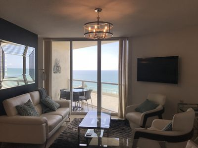 Photo for Exquisite ocean front condo in Sunny Isles Beach -LICENSE # STR-00152