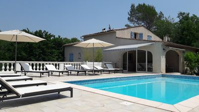 Photo for Large and comfortable house with private pool