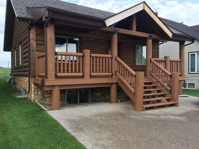 Photo for 3BR Cabin Vacation Rental in pine lake, AB