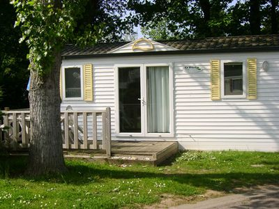Photo for Camping Le Havre de Bernières **** - Mobile home 3 Rooms 4 People