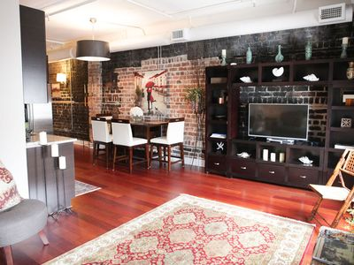 Photo for BEAUTIFUL  LOFT IN THE  HEART OF THE HISTORIC DISTRICT
