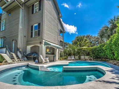 Photo for Spacious home moments from the beach with private pool, spa, and more!