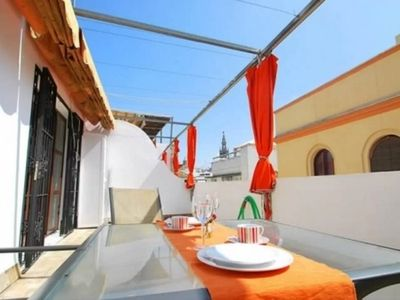 Photo for Apartment in the center of Seville with Internet, Air conditioning, Terrace, Washing machine (462950)