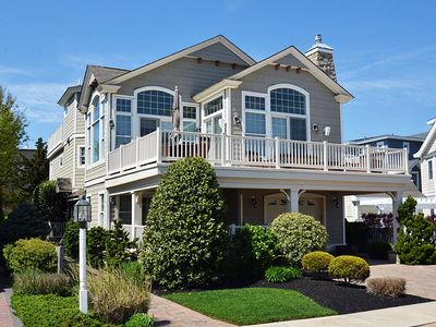 Photo for BEACH BLOCK home with heated pool. Built in Hot tub and Beautiful Ocean views!!