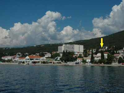 Photo for Holiday apartment Selce for 2 - 4 persons with 1 bedroom - Holiday apartment