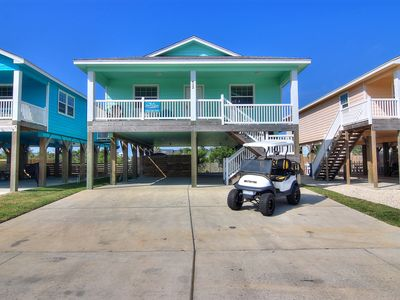 Photo for NEWLY BUILT: The Beach Hive, *FREE GOLF CART*, In Town, 3/2
