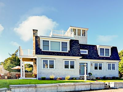 Photo for New 3BR Seaside Retreat w/ Water Views, Roof Deck, & Private Beach Access