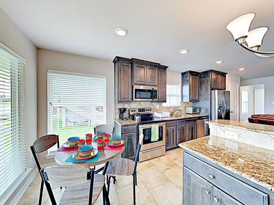 Kitchen & Dining Areas - Your rental will be meticulously clean for your arrival, thanks to TurnKey's professional housekeeping team.