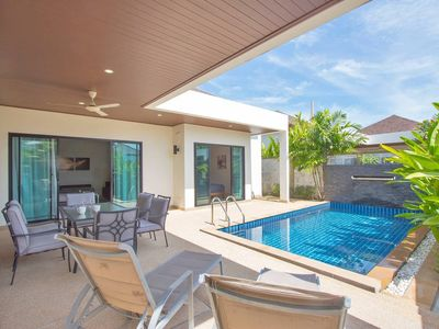 Photo for Trendy 3br Boutique Pool Villa by Intira