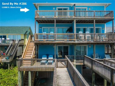 Photo for Sand By Me: 5 BR / 4 BA duplex in Surf City, Sleeps 12