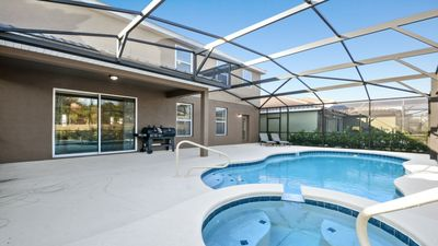 Photo for Budget Getaway - Solterra Resort - Beautiful Spacious 5 Beds 4.5 Baths Townhome - 7 Miles To Disney